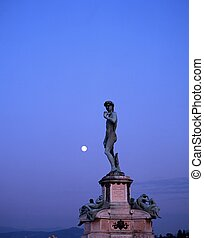 Statue of David, Florence, Italy.