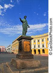 Statue of Duke Richelieu - Odessa, Ukraine