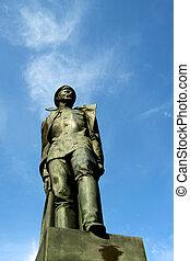 Statue of Felix Dzierzinski - St.Petersburg, Russia