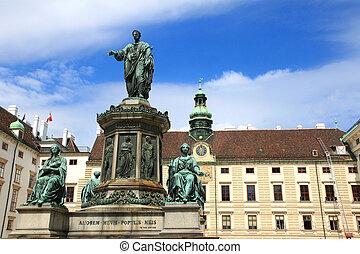 Statue of Francis II, Vienna