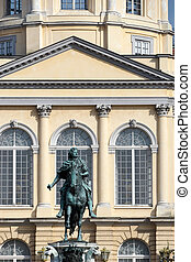 Statue of Frederic the Great at the Charlottenburg Palace in Ber