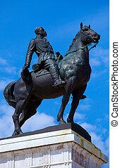 Statue of General Maximo Gomez, Havana, Cuba
