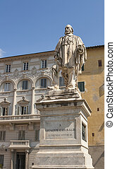 Statue of Guiseppe Garibaldi by Urbano Lucchesi on Piazza...