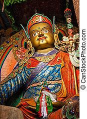 Statue of Guru Padmasambhava, Ladakh, India