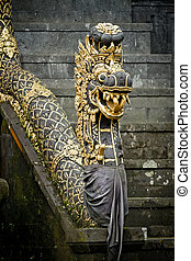 statue of hindu demon