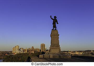 Statue of Jacques Cartier
