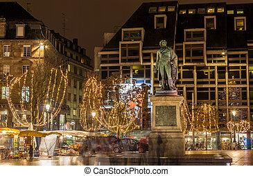 Statue of Jean Baptiste Kleber in Strasbourg, France