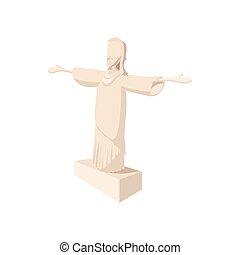 Statue of Jesus Christ, Rio de Janeiro icon
