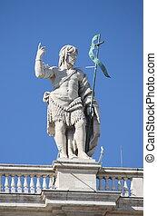 Statue of John the Baptist in Vatican