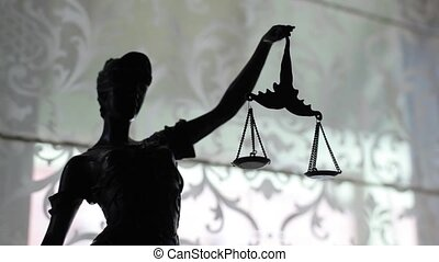 Statue of justice with weights court, lady, law, legal, scale, sculpture judgment bronze