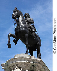 Statue of King Charles I in London