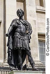 Statue of King James II, Trafalgar
