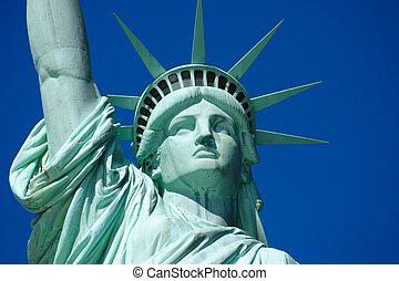 Statue of Liberty 2 - Beautiful Lady libery\\\'s head