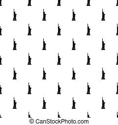 Statue of liberty pattern vector