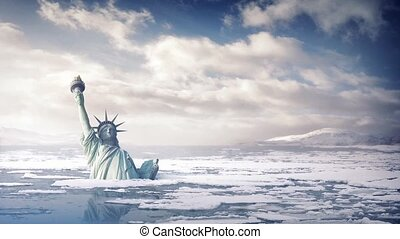 Statue Of Liberty Rising Sea Levels - The Statue of Liberty...