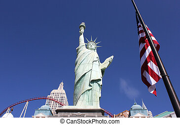 Statue of Liberty at New York New York Casion