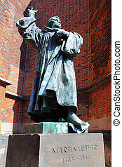 Martin Luther - Statue of Martin Luther in Hanover, Germany