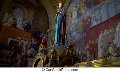 Statue of Mary in the Vatican Museums, Rome, Italy