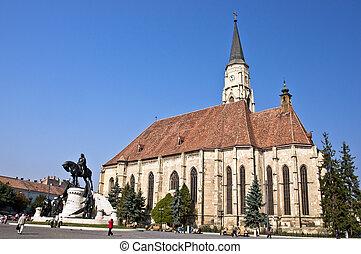St. Michael's Church. Cluj-Napoca.