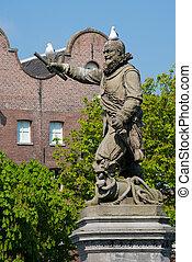 statue of Piet Heyn - statue of the Dutch sailor Piet Heyn...