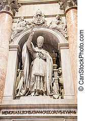 Statue of Pope Gregory