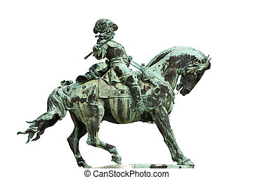 Statue of Prince Eugene of Savoy in Budapest