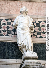 Statue of Prophet attributed to Andrea Pisano, Portal on the...
