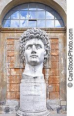 Statue of Roman Emperor Caesar