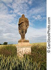 Statue of Saint Onufrius