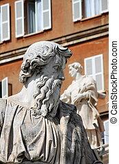 Statue of Saint Paul the Apostle in Vatican City, Rome