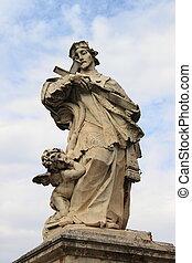 Statue of St. John of Nepomuk in Rome