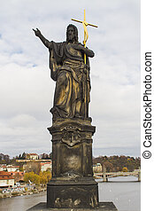 St. John the Baptist on Charles Bridge in Prague