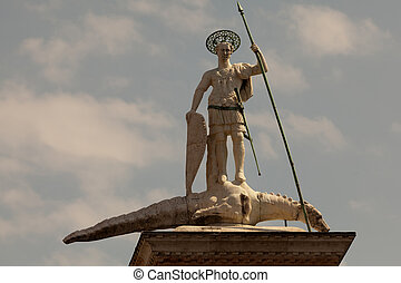 Statue of St Theodore