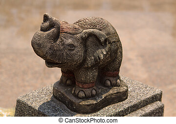 Statue of Thai elephant
