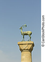 Statue of the Deer at rhodes island