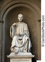 Statue of the famous architect Arnolfo di Cambio- Florence