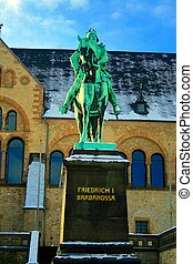 Statue of the Frederick I.