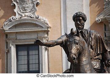 Statue of the Marcus Aurelius