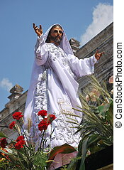 Statue of the Resurrected Jesus