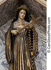 Statue of the Virgin Mary - Picture of a statue of the...