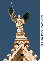 Statue of the winged angel