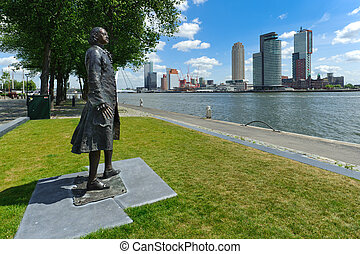 Peter the Great - Statue of Tsar Peter the Great overlooking...