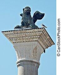 venetian winged lion