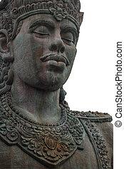 Statue of Vishnu in the Garuda Vishnu Park