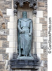 Statue of  William Wallace at Edinburgh Castle