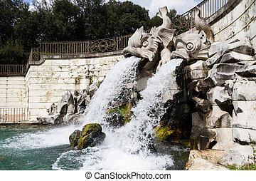 Statues At Royal Palace Of Caserta