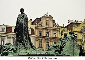 Statues in Prague