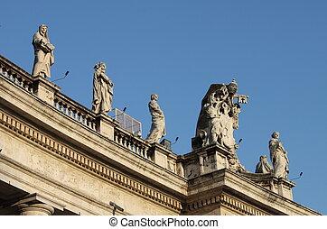Statues in Vatican