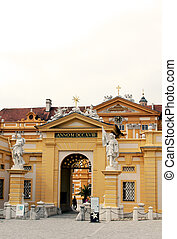 Statues of St Coloman and Leopold II - Statues of saint ...