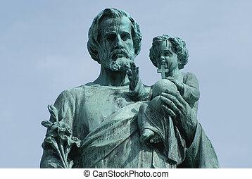Statues, Saint Joseph's Oratory, Ca - Religious statues of...